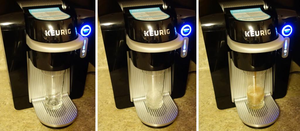 Keurig KOLD Making a Drink Series 1