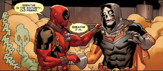 Deadpool Fart Joke