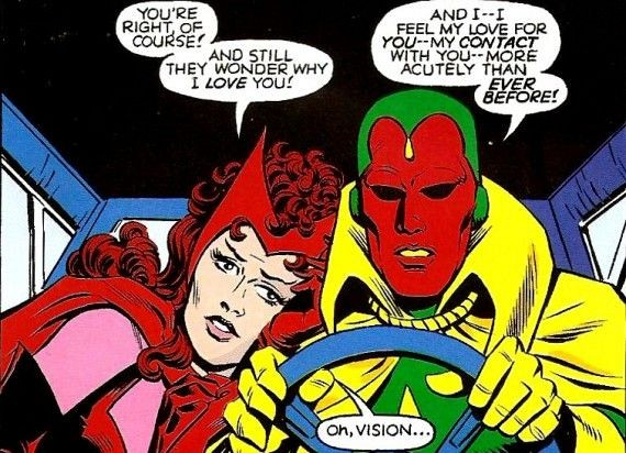 Vision and the Scarlet Witch