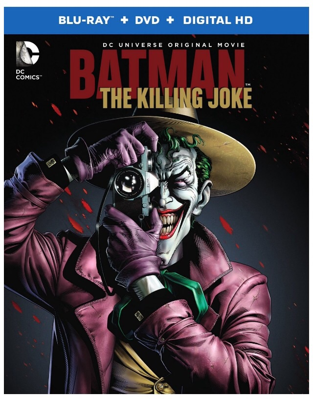The Killing Joke Blu-Ray