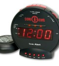 Sonic Bomb Dual Alarm Clock with Bed Shaker
