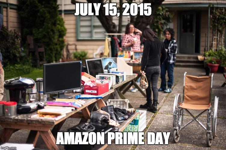 Amazon Yard Sale
