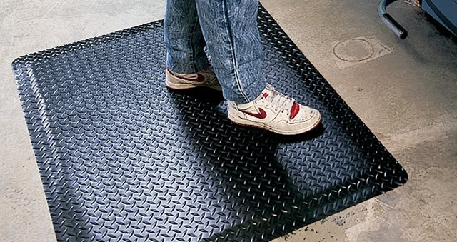 Anti-fatigue-garage-floor