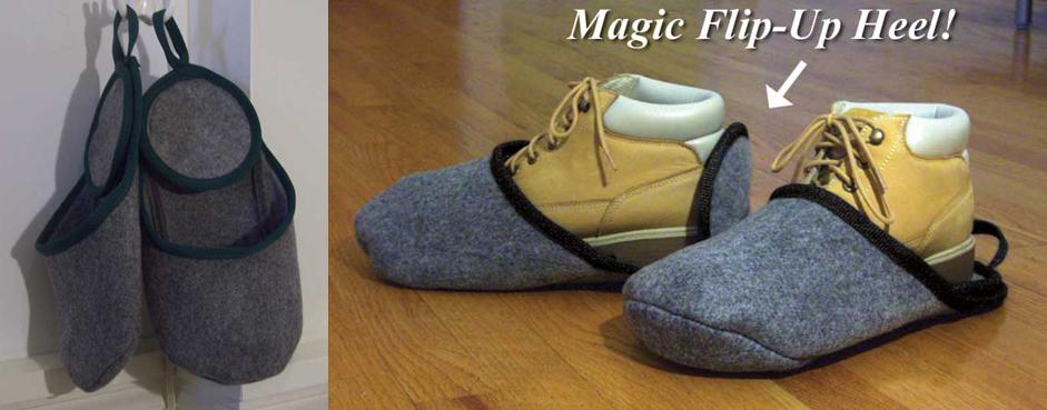 Bigfoot Boot Shoe-in Slipper