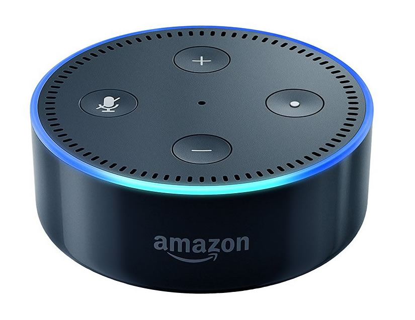 Echo Dot black 2nd gen