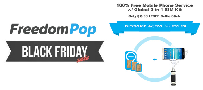 Early Black Friday Sale at FreedomPop