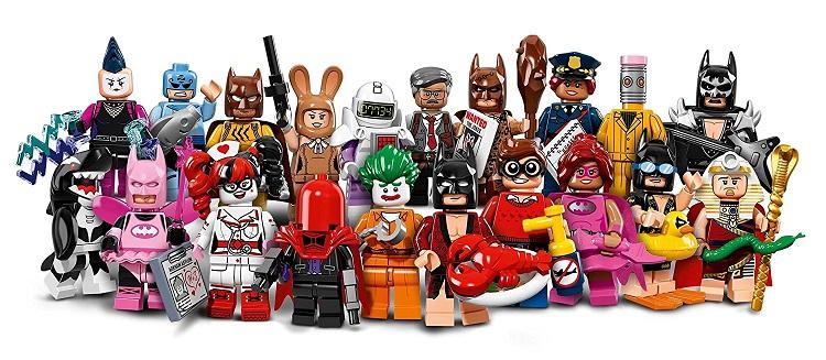 best lego batman movie figurines