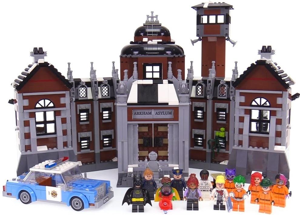 best lego movie arkham asylum toys
