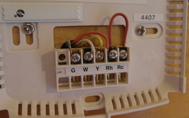 how to disconnect your old thermostat