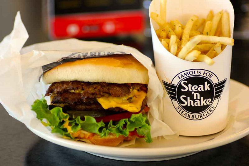 best burger at Steak n shake