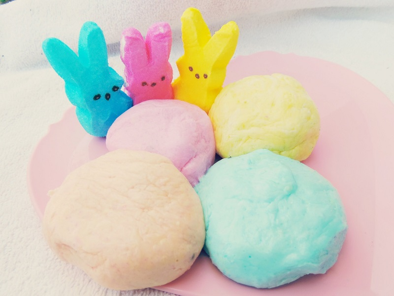how to make peeps play dough