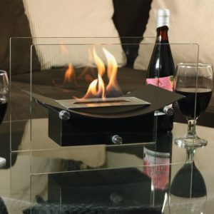 table top fire place to upgrade your living room
