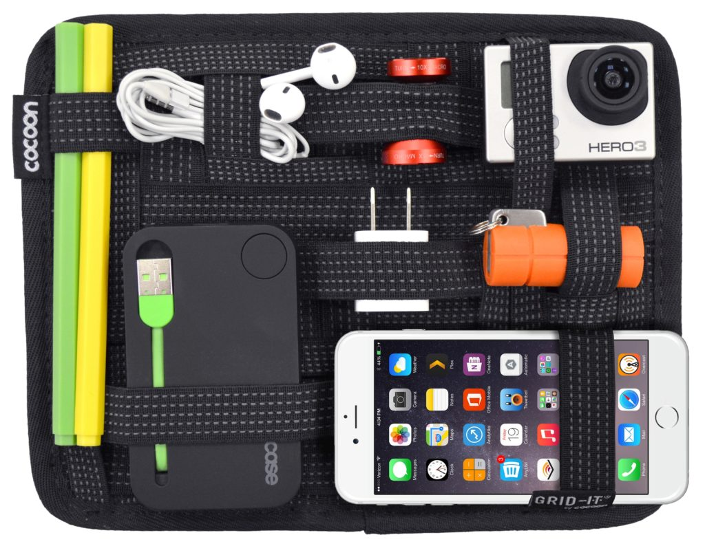 GripIt Organizer low cost tech device