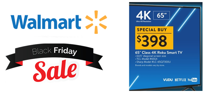 Top 10 Walmart Black Friday Deals for 2018
