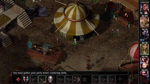 baldur's gate video game