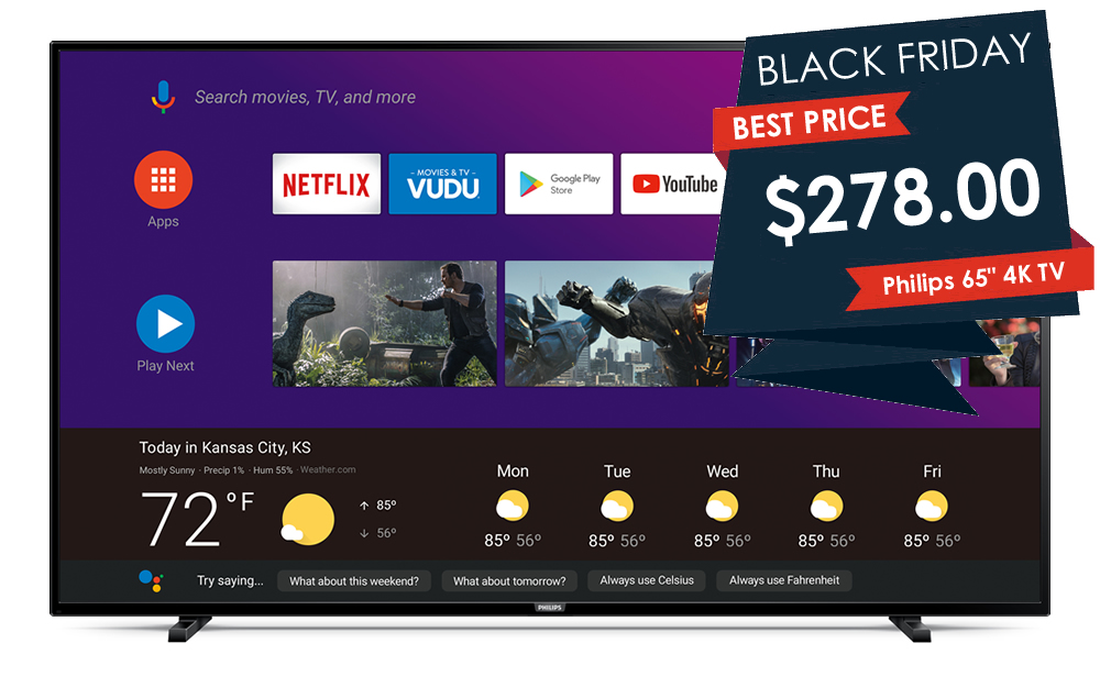 Here S The Cheapest 65 Inch 4k Tvs On Black Friday 2019