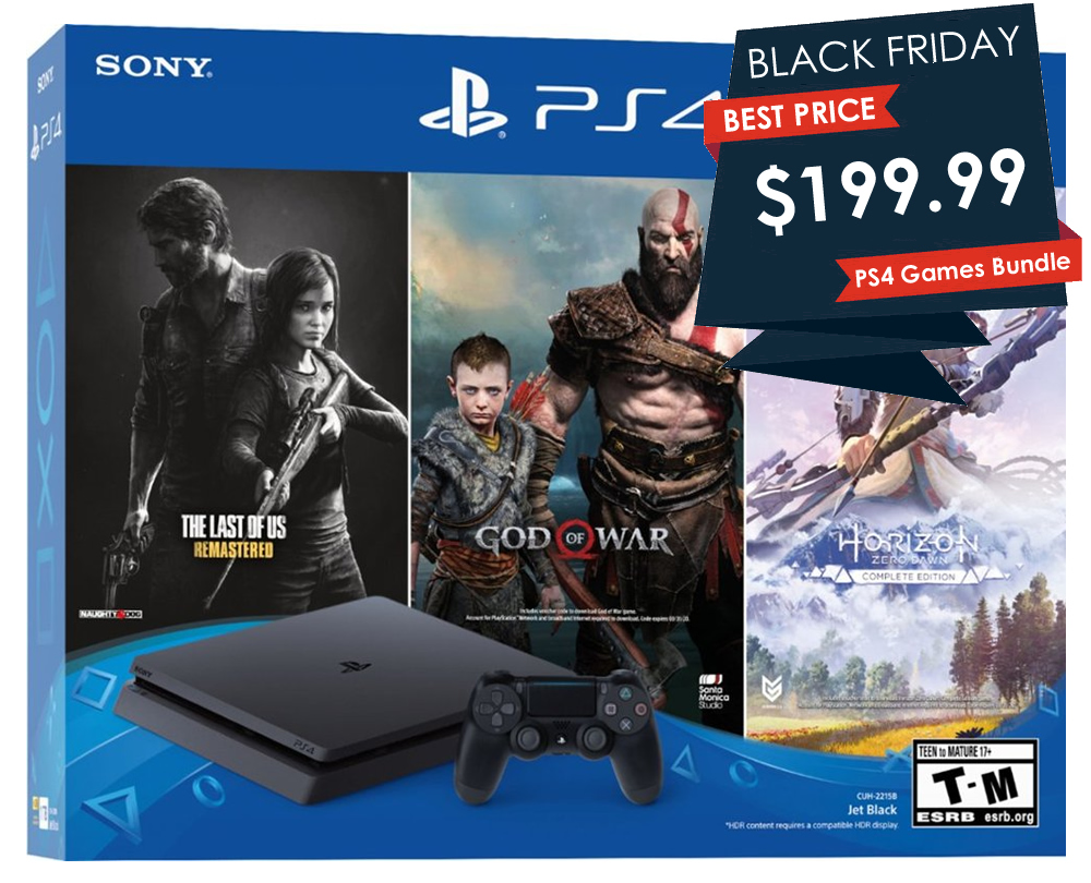 Here's the cheapest PS4 on Black Friday 2019