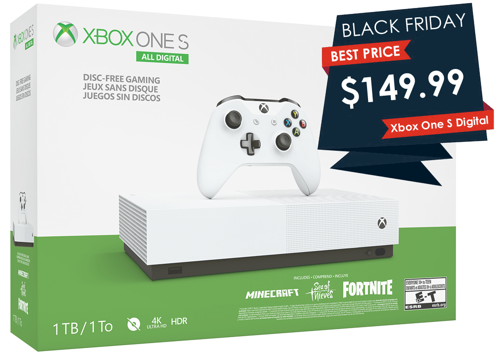 Here S The Cheapest Xbox One On Black Friday 2019