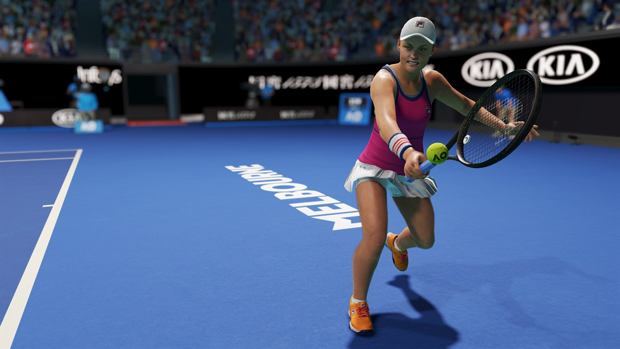 ao tennis video game