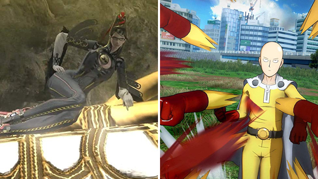 bayonetta one punch video game