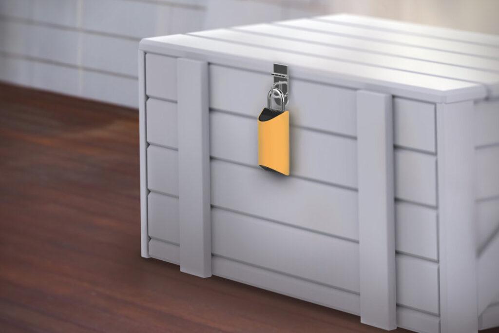 delivery lock-box