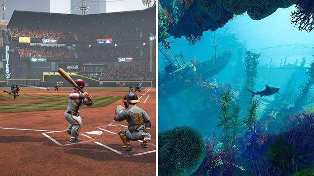 maneater baseball video games