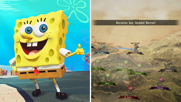 spongebob ps video games