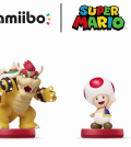 Bowser and Toad Super Mario amiibo