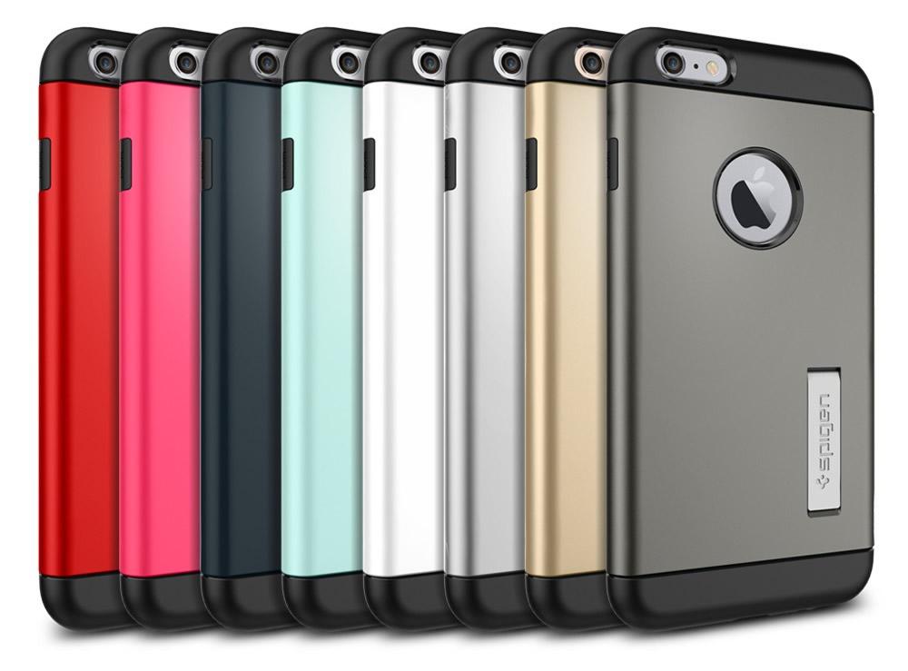 wholesale dealer 6af7c 1eb7c Spigen Kickstand iPhone 6 Plus Case Review: Slim Enough